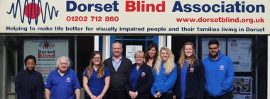 Dorset Blind Association staff