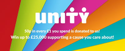 Win money from playing in Dorset Blind Association's weekly £1 lottery  unity