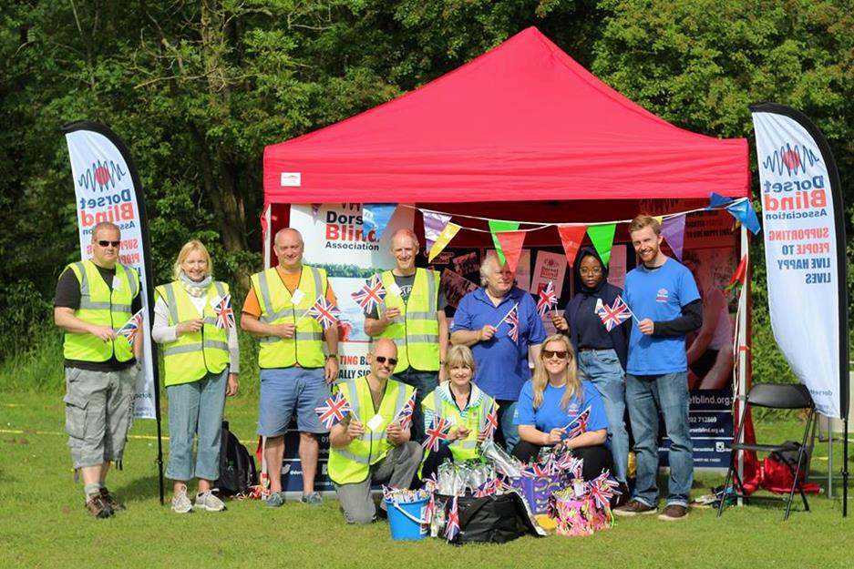 Volunteers of Dorset Blind Association