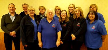 The Dorset Blind Association staff members.