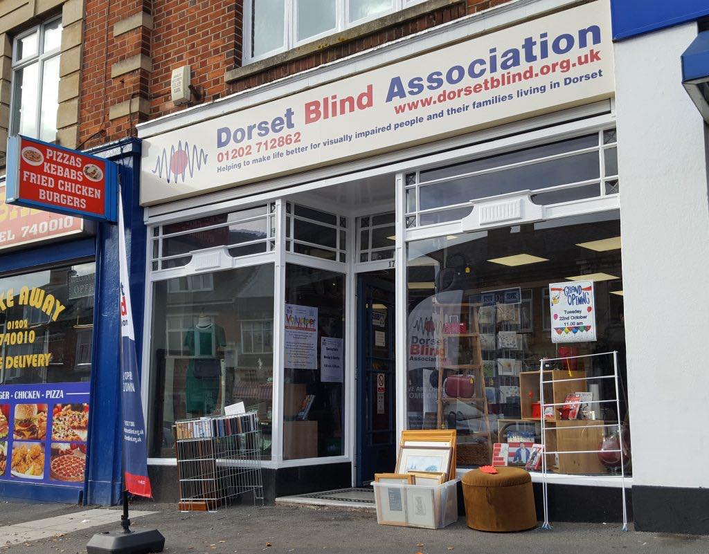 Picture shows our shop in Lower Parkstone