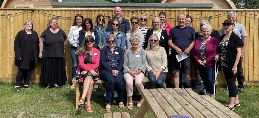 The Dorset Blind Staff Team Meeting